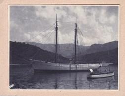 PLAMA MAJORQUE Puerto De SOLLER 1930 Photo Amateur Format Environ 7,5 Cm X 5,5 Cm - Lieux