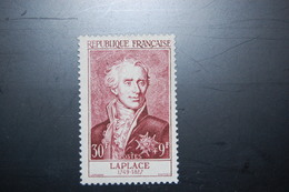 FRANCE 1955 - YT 1031**  Laplace -  Luxe - Postfrisch** Cote 32€ - Unused Stamps