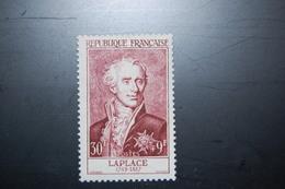 FRANCE 1955 - YT 1031**  Laplace -  Luxe - Postfrisch** Cote 32€ - Ungebraucht