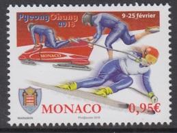30.- MONACO 2018 Winter Olympic Games - Pyeongchang - Unused Stamps