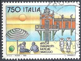 Italia, 1992 Viareggio, 750L # Sassone 2015 - Michel 2234 - Scott 1892  USATO - 6. 1946-.. Republik