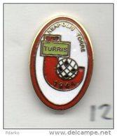 Turris Neapolis Torre Del Greco Calcio FootBall Italy Broches Pins Stifte Fußball Pasadores De Fútbol - Football