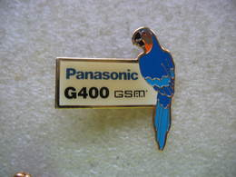 Pin's Perroquet, Perruche Pour Pub Panasonic G400 GSM - Animals