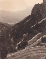 PALMA MAJORQUE Route De SOLLER à PALMA 1930 Photo Amateur Format Environ 7,5 Cm X 5,5 Cm - Lieux