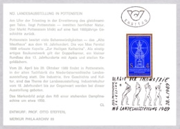 1989   Magie Der Industrie FDC SSt 2563 Karte (ANK 1985, Mi 1954) - FDC
