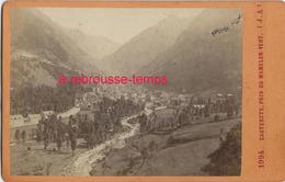 Format CDV-photo Fin XIXe- Cauterets Pris Du Memelon Vert  N°1994 - Pyrennées - Lieux