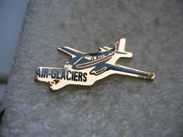 Pin's Avion De La Compagnie Aérienne Air-Glaciers - Luftfahrt