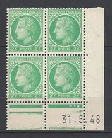 CD 680 FRANCE 1948 COIN DATE 680 : 31 / 5 / 48 TYPE CERES DE MAZELIN - 1940-1949