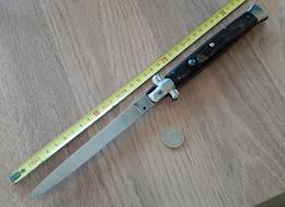 Grand Couteau Automatique Cran D'arrêt Poignard - Blankwaffen