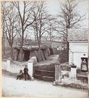 Stéréo 1860-70 Joseph Le Roch à Saumur. Le Dolmen De Bagneux. - Photos Stéréoscopiques