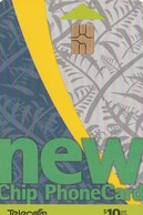 "TARJETA TELEFONICA DE NUEVA ZELANDA, 1999 ""New Chip"" Issue. New Green. NZ-C-005. (062) - Neuseeland"
