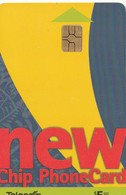 "TARJETA TELEFONICA DE NUEVA ZELANDA, 1999 ""New Chip"" Issue. New Red. NZ-C-004. (061) - Neuseeland"
