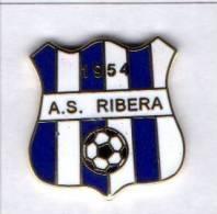 A.S. Ribera Calcio Distintivi FootBall Soccer Pin Spilla Pins Agrigento Italy - Calcio