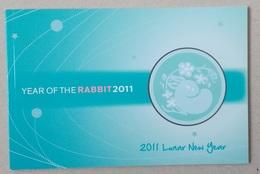 Australia 2011. Year Of The Rabbit 2011. Prestige Booklet - Nuovi