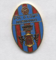 Pol. Comprensorio Normanno Calcio Distintivi FootBall Pins Paternò Soccer Spilla Catania Italy - Fútbol