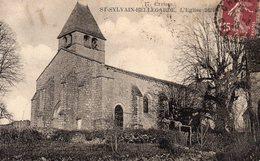 SAINT-SYLVAIN-BELLEGARDE 23, L'EGLISE 1624 - Frankrijk