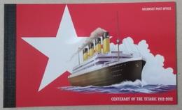 Guernsey 2012. Centenary Of The Titanic. Prestige Booklet - Alderney