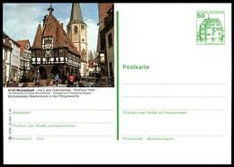 75501) BRD - P 134 - I4/52 - * Ungebraucht - 6120 Michelstadt - Rathaus - BRD