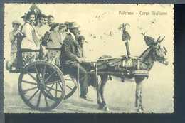 Palermo - Carro Siciliano - Viaggiata 1913 - 21519 - Palermo