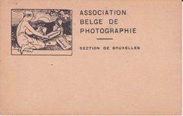 BELGIQUE CPA 1900 -  BRUXELLES - ASSOCIATION BELGE DE PHOTOGRAPHIE - Belgique