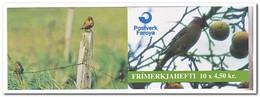 Faroer 1996, Postfris MNH, Birds ( Booklet, Carnet ) - Faeroër