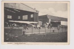 Vintage Rppc KLM K.L.M Royal Dutch Airlines Fokker F-7 @ Waalhaven Rotterdam Airport - 1919-1938: Between Wars
