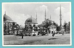 ISTANBUL FONTAINE GUILLAUME II 1937 - Turchia
