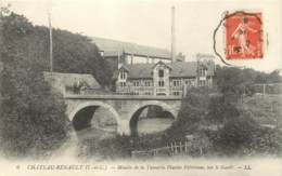 37 - CHATEAU-RENAULT - Moulin De La Tannerie Peltereau Sur Le Goult En 1914 - France