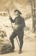 38 - Militaria - Carte Photo Du Soldat Joseph Laurent De Saint Chef - 97e RIA (Infanterie Alpine ?) - Saint-Chef