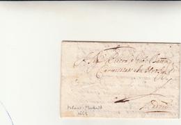 Milano Per Madrid, Lettera Con Contenuto 1669 - Italie