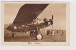 Vintage Pc KLM K.L.M. Royal Dutch Airlines Fokker F-7a @ Eelde Groningen Airport - 1919-1938: Between Wars
