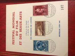 Feuillet Festival Mondial Du Film - Used Stamps