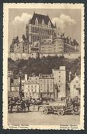 +++ CPA - Amérique - Canada - QUEBEC - Château Frontenac - Publicité Chocolat Martougin Anvers  // - Québec - Château Frontenac