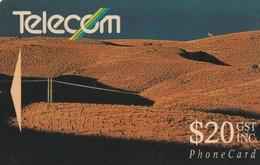 TARJETA TELEFONICA DE NUEVA ZELANDA, 1991 Landscapes. Pine Plantation, NZ-G-027. (070) - Nueva Zelanda