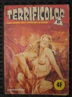 Terrificolor N°45: Pyromanie/ Editions Elvifrance, Juillet 1978 - Petit Format