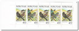 Faroer 1998, Postfris MNH, Birds ( Booklet, Carnet ) - Faeroër