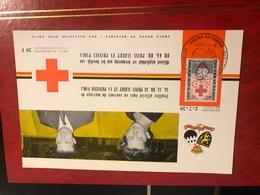 Feuillet 100éme  Anniversaire Charité 1959 - Belgium