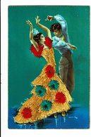 CPA - Carte Postale En Relief- Espagne - Dance Folklorique -VM3284 - Bailes