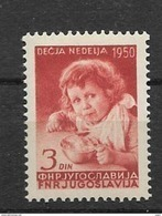 1950 MNH Joegoslavië, Postfris** - 1945-1992 République Fédérative Populaire De Yougoslavie