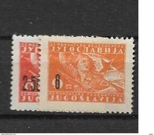 1946 MNH Joegoslavië, Postfris** - 1945-1992 Socialistische Federale Republiek Joegoslavië