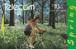 TARJETA TELEFONICA DE NUEVA ZELANDA, 1995 Four Seasons, SPRING. G-096. (071) - Neuseeland