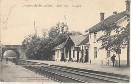 Environs De Bruxelles - Boitsfort - La Gare - Côté Voies - Edit. Wilhelm Hoffman, Dresde - Stations Without Trains