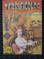 Terrificolor N°3: Les Pions Maudits/ Editions Elvifrance, Janvier 1975 - Petit Format