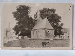 Paliseul. Chapelle St-Roch Datant De 1630 - Paliseul