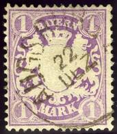 Bavaria. Scott #32. Used. VF. - Bavaria