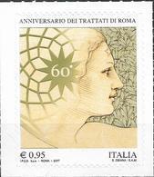 2017 Italien Mi.3973 **MNH    60 Jahre Römische Verträge. - 6. 1946-.. Republik