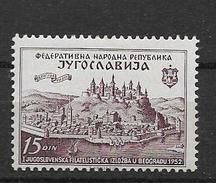 1952 MNH Joegoslavië, Postfris** - Nuovi