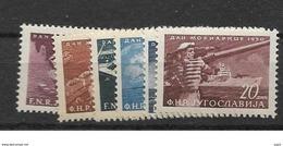 1950 MNH Joegoslavië, Postfris** - 1945-1992 Socialistische Federale Republiek Joegoslavië