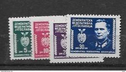 1945 MNH Joegoslavië, Postfris** - Nuovi