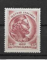1951 MNH Joegoslavië, Postfris** - 1945-1992 Repubblica Socialista Federale Di Jugoslavia